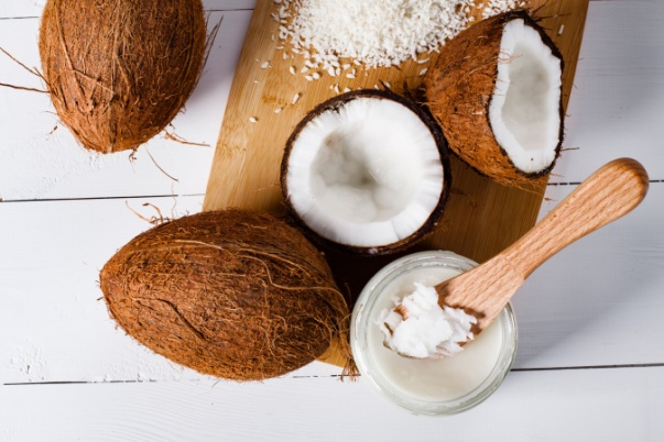 Coconut is a rich source of MCTs